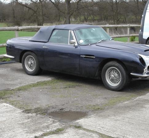Aston Martin repair