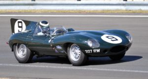 racing jaguar d-type