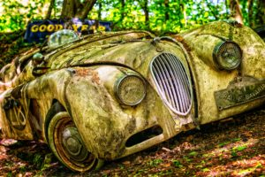 jaguar restoration barn find